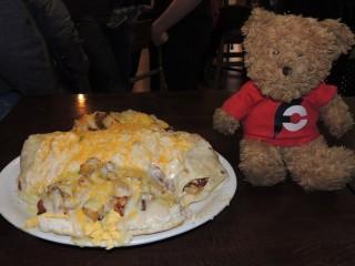 #585 Foody's Royal Breakfast Burrito Challenge