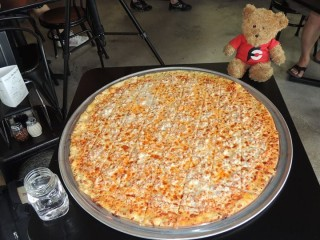 #593 West Main Pizza's 26 inch Pizza Challenge