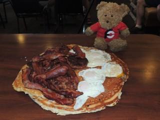 #602 Elly May Dining Paul Bunyan Breakfast Challenge