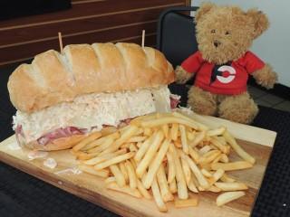 #604 Bread Basket Deli Sandwich Challenge