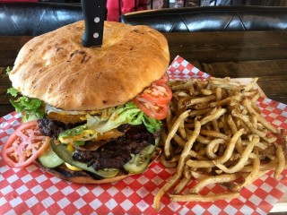#614 Bernard Stanley's BSG Burger Challenge