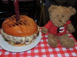#625 Man vs Food Belly Buster Burger Challenge
