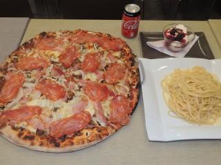 #637 Il Vulcano Pizza and Pasta Challenge