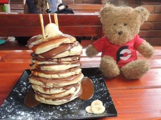 #654 Nase Bistro Tower of Pancakes Challenge