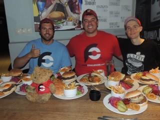#655 BeAbout Men vs Burgers Challenge Bratislava