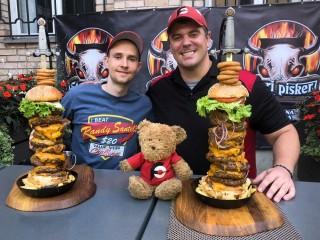 #657 Stari Pisker Slovenia Fat Joe Burger Challenge