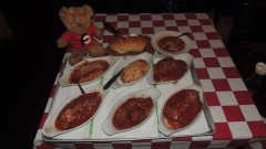 Mick & Angelo's Man vs Food Italian Challenge Niagara Falls
