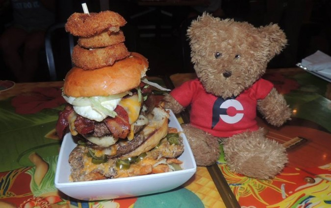 Cheeseburger Waikiki Burger Challenge