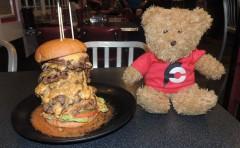 Cool Cat Cafe's 808 Burger Challenge