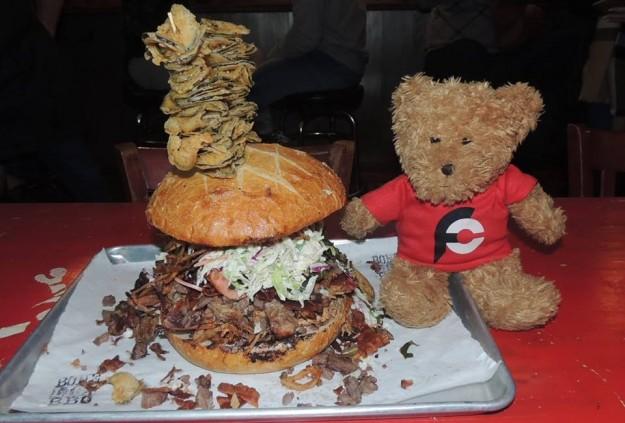 Bone Lick BBQ's Sandwich Challenge
