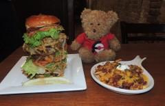 Cannon Brew Pub's Burger Challenge