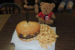 Myra Jean's Behemoth Burger Challenge