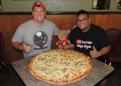 Alberto's Team Pizza Challenge