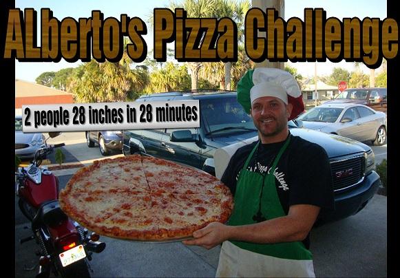 Alberto's Pizzeria Challenge Edgewater Florida