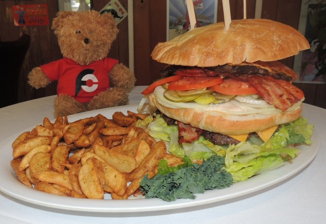 Mrs Riches Burger Challenge Nanaimo