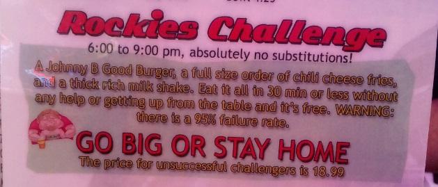 Rockies Diner Description