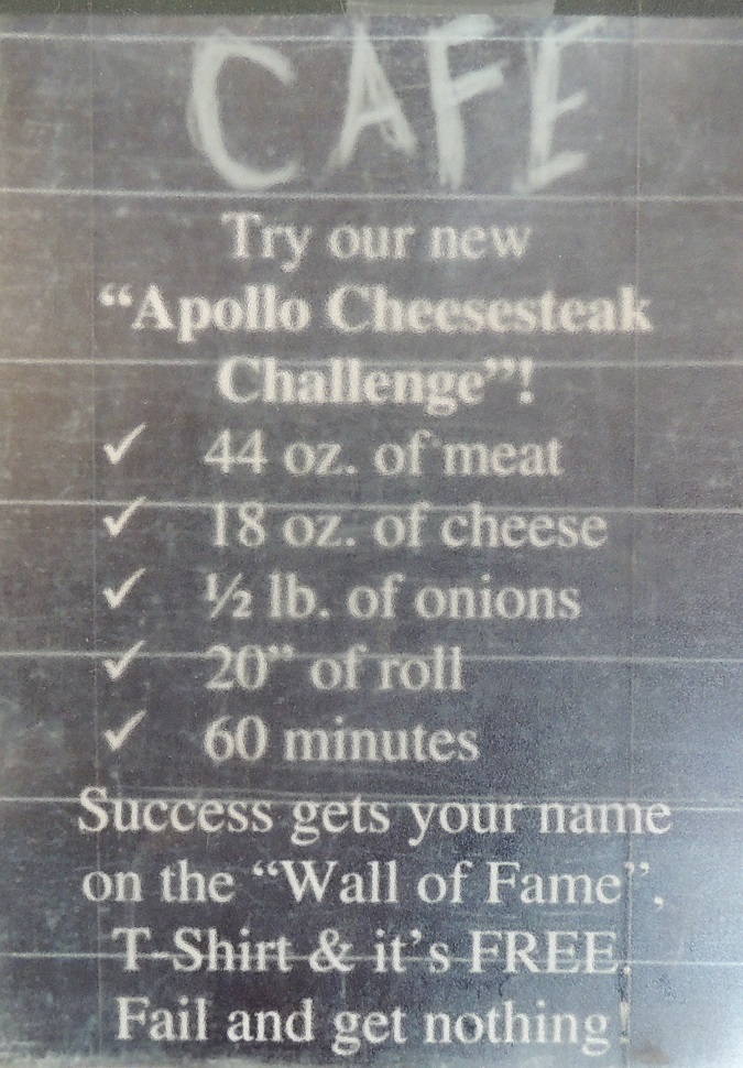 Taste of Philly Cheesesteak Challenge Rules