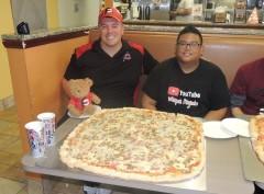 Brooklyn Pizzeria's Brooklynator Pizza Challenge