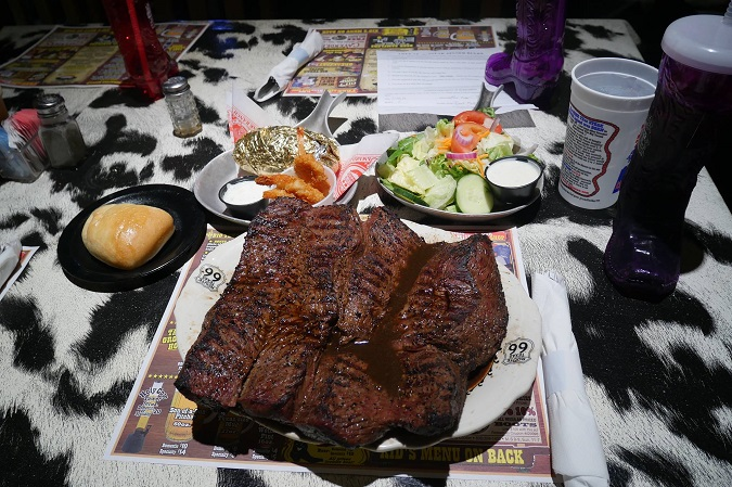 Big Texan Steak Challenge Photo