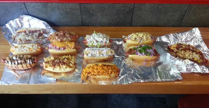 The Defining Challenge Of Our Time >> Dobbs Dawg House's 12 Specialty Dogs Challenge - FoodChallenges.com - FoodChallenges.com