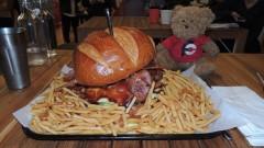 Johnny's Burger Challenge Perth Western Australia