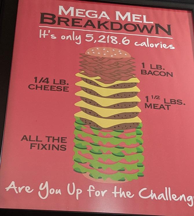 Mel S Country Cafe S Mega Mel Burger Challenge Foodchallenges Com Foodchallenges Com