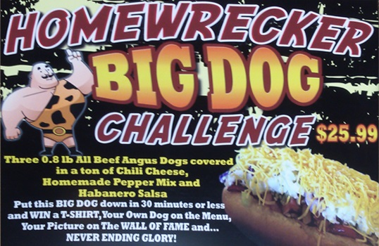 homewrecker big dog