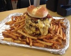 T'Beaux's Blues Le Roux's Swamp Monster Burger Challenge