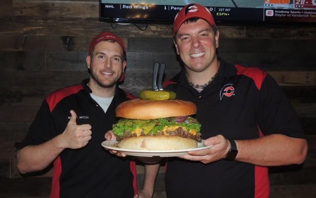 Kooky Canuck Team Burger Challenge