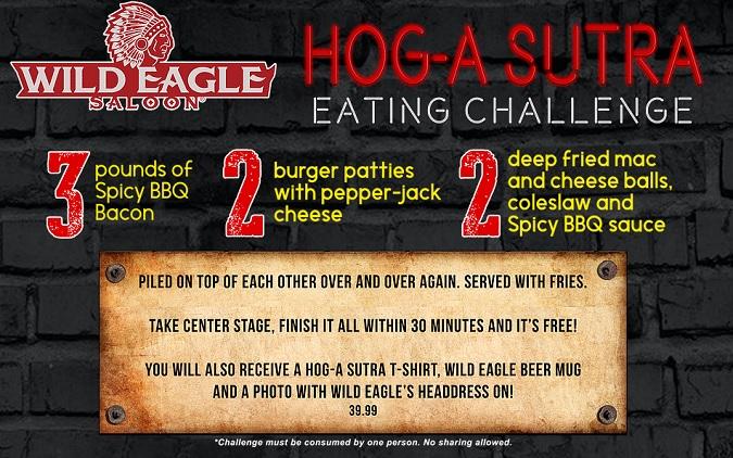 Wild Eagle Saloon Eating Challenge