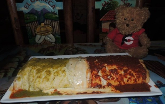 El Olmeca Macho XXL Burrito Challenge