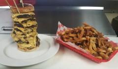 Bard's Bardzilla Burger Challenge