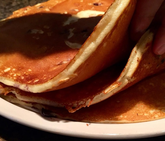 Lynde's Pancake Thickness Pic