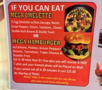 The Round Table S Mega Hamburger Challenge Foodchallenges Com Foodchallenges Com