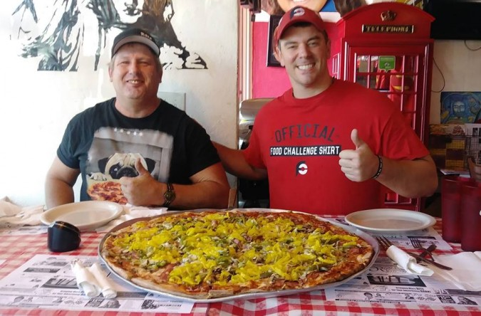 Rico's Big Richie Pizza Challenge