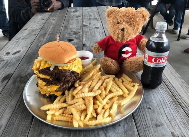 KC Finn's Big Burger Challenge