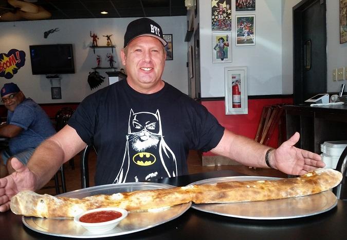 Gotham City Pizza Stromboli Challenge