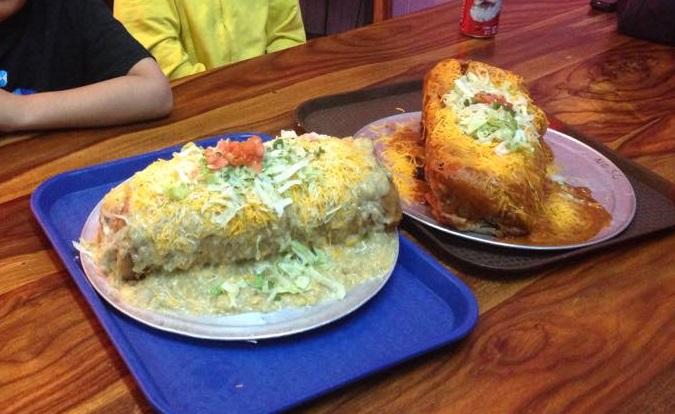 Tania's 33 BRex Burrito Challenge