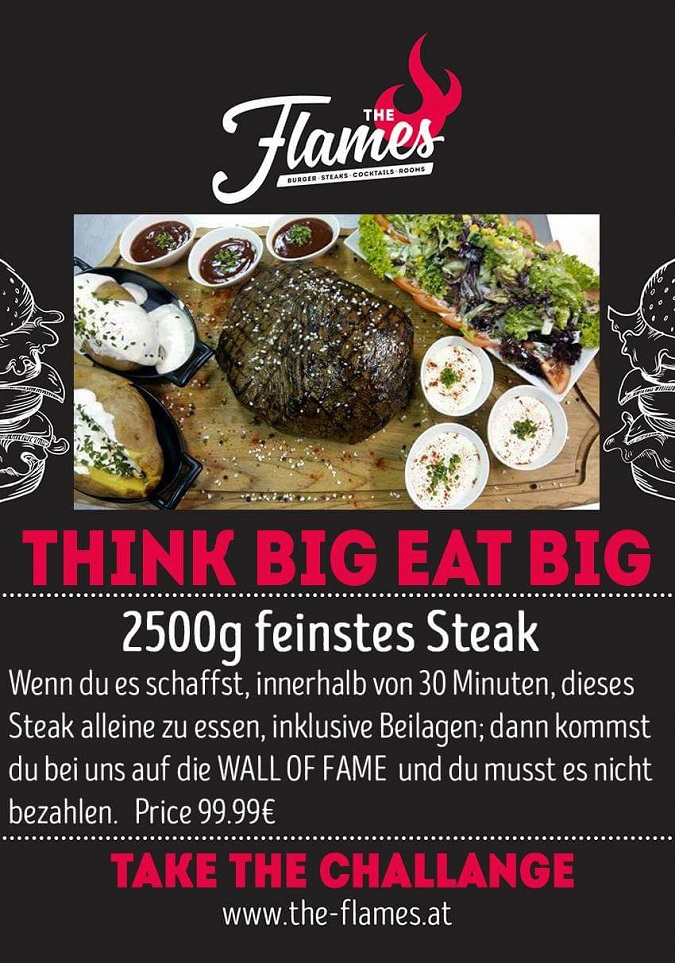 the flames 2500g steak challenge austria