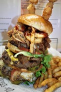 Whiskey Ranch Bar's Burger Challenge
