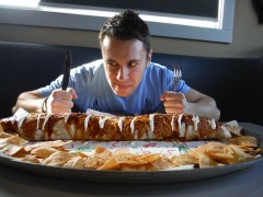 "Elixir Bar's 6lb ""Outrageous"" Burrito Challenge"