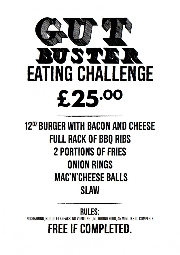 Jags@119 Gut Buster Eating Challenge