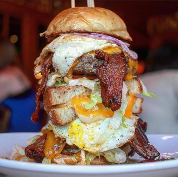 Sharps RoastHouse's Monster Burger Challenge