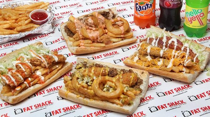 Fat Shack Sandwiches Challenge