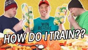 How I Train for Food Challenges After a Long Break!!