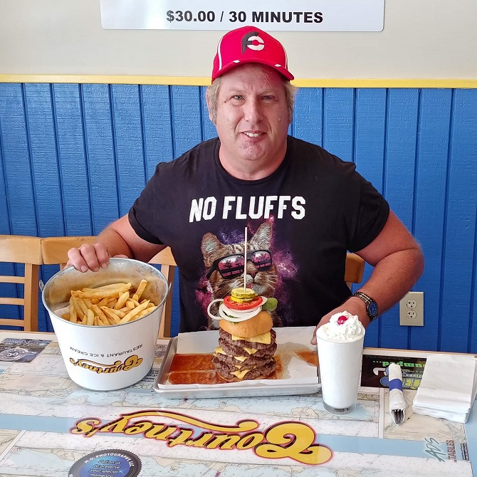Courtney's Burger Challenge Michael Florida