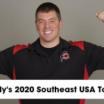Randy Santel's 2020 Southeast USA Tour Master Schedule