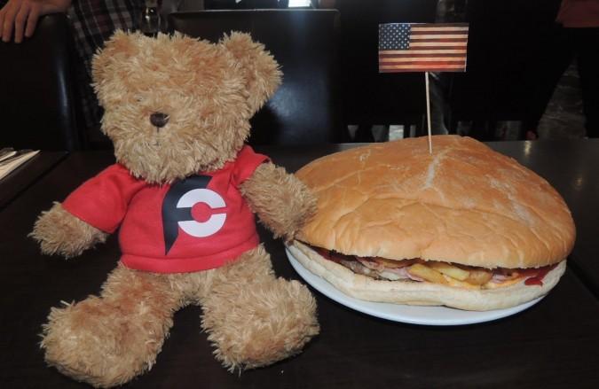 Uncle Sam's Massive Burger Challenge