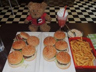 #436 Sunny Diner's Burger Challenge