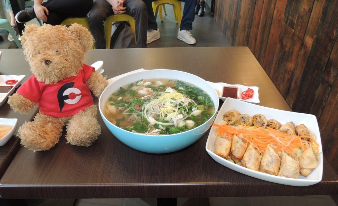 Union Viet's Pho and Spring Rolls Challenge